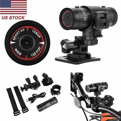 Full HD 1080P Action Sport Camera Bike Motorcycle Helmet Recorder DVR Video US