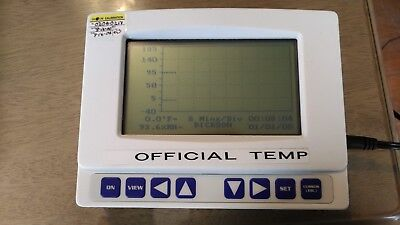 Dickson FH125 Temperature Humidity Recorder  Lcd Display Graphing Logger