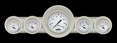 White Hot 59-60 Full-Size Chevy Gauges - Classic Instruments - CH59WH54