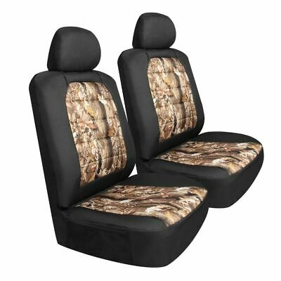 Pilot Automotive Black Diamond Pattern Seat Covers Sold in Pair Car Truck SUV