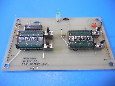 HP HPDL-2416 Smart Four Character 16-Segment Red GaAsP Display On Board Lot of 2