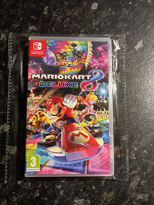 Nintendo Switch Mario Kart 8 Deluxe SEALED