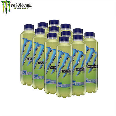 Monster Energy Drink 12X550Ml  Hydro Mean Green