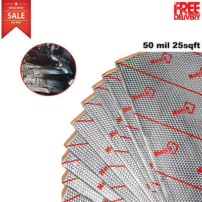 25SqFt Sound Deadener Proofing Thick Insulation Material Dynamat Noise Dampening