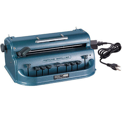 Perkins Electric Brailler -Blue, Low Vision, Blindness, Braille Machine, UL, CSA
