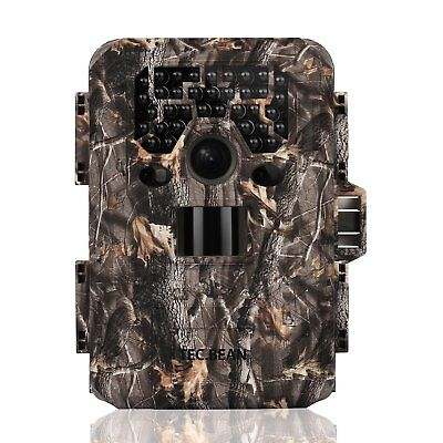 TEC.BEAN Trail Camera 12MP 1080P Full HD Game & Hunting Camera with 36pcs 940nm