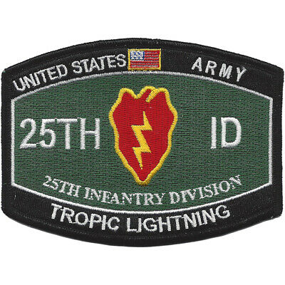25th Infantry Division Military Occupational Specialty MOS Tropic Lightning