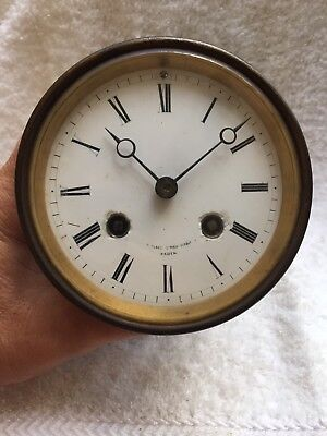 Antique Miroy Freres French Clock Movement For Restoration Lot A-30
