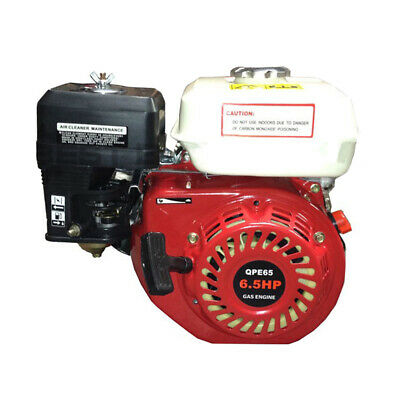Petrol Engine 6.5 HP Horizontal Shaft OHV Motor for Log Splitter Water Pumps