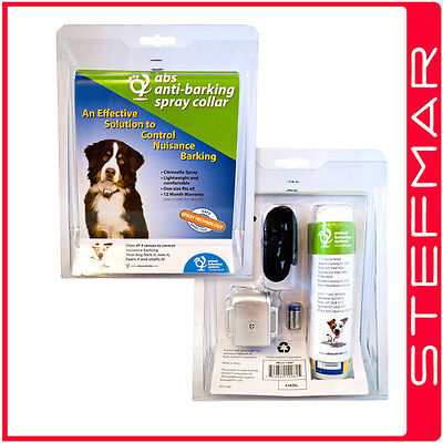ABS Anti-Barking Spray Collar (One Size Fits All)