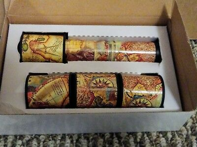 Multifunction Kaleidoscope with 4 Changeable Cartridges New In Box