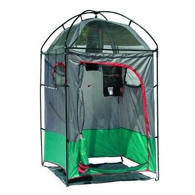 Portable Camping Shower Privacy Tent Shelter Changing Room Rack 5 Gallon Hygiene