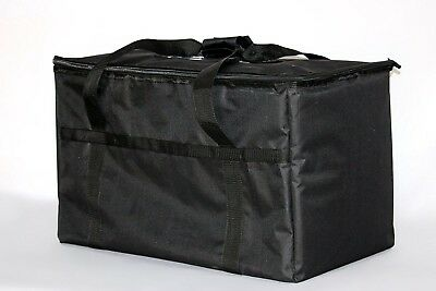 Food Warm Carry Transport Pizza 23x13x15in Big Insulated Hot Delivery Bag Travel