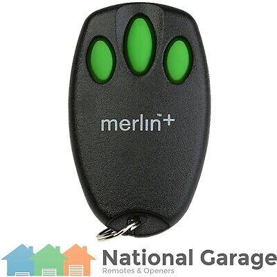 Garage Door Remote Control Merlin C945 Security+ Keyring - Replacement Options!