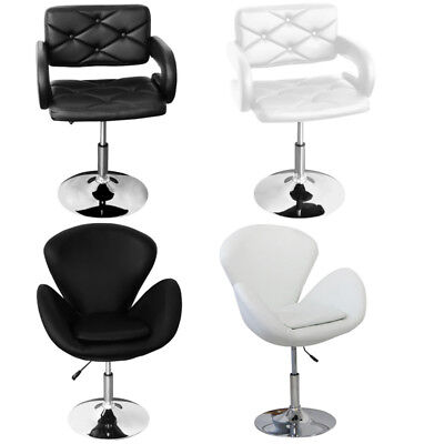 Swivel Tub Chair Leather Style Beauty Salon Hairdresser Barber Quilted Armchair  sc 1 st  PicClick UK & BEAUTY SALON STYLING Faux Leather Swivel Barber Chair Hairdressing ...