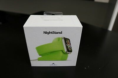 NIB ElevationLab Elevation Lab NightStand Apple Watch Lime Green Charging Dock