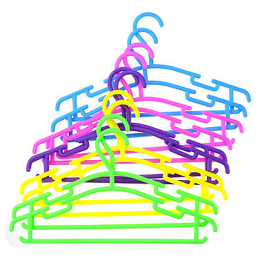 Plastic Coat Hangers for Children's Clothes Durable Hangers for Toddler Lot ZVE