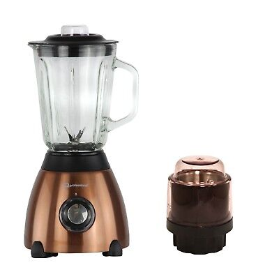 500w Electric Multi Food Blender With Grinder Smoothie Maker Processor Copper