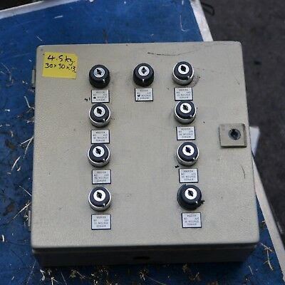 Rittal Cabinet Enclosure 30 X 30 X 12cm key switches