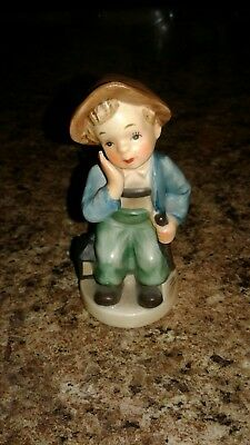 "1960's NAPCO Ceramic Figurine AH901 ""Tired"""