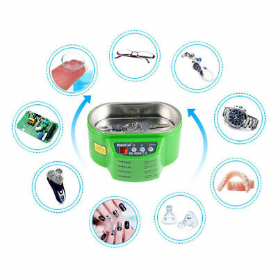 Ultrasonic Cleaner Stainless Steel Digital Timer Industrial Grade Jewellery Tank