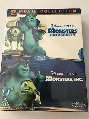 Monsters, Inc./Monsters University - Blu-ray, 2-Disc Set