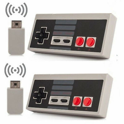 Rechargable Wireless Controller GamePad For Nintendo Mini Classic NES Console