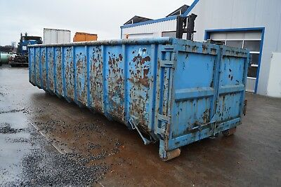 Container Abrollcontainer Abrollbehälter Abrollmulde Ca.30 m³ L Ca 7,2 m (406)