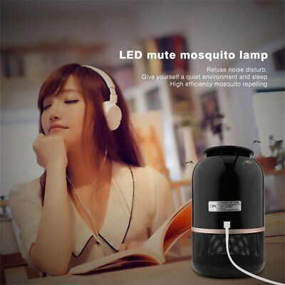 LED Photocatalyst Mute Mosquito Repeller Electric Mosquito Killing LaAL