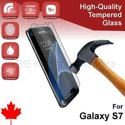 2pcs X High Quality Tempered Glass Screen Protector for Samsung Galaxy S7 G930F