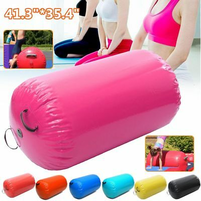 Inflatable Air Roller Home Large 105x90cm Gymnastics Cylinder GYM Gymnastic Beam