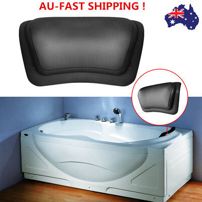 Bath Pillow Bathtub Headrest Spa Head Rest Neck Support Back Comfort Jacuzzi AU
