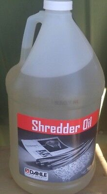 Dahle Shredder Oil 1 Gallon Bottle