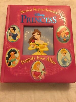 Disney Princess Happily Ever After🎵 Musical Magical Treasury Board Book