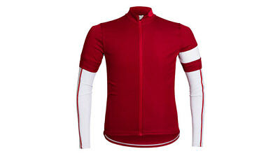 Rapha Red Classic Jersey with matching Arm Warmers. Size XS. BNWT.