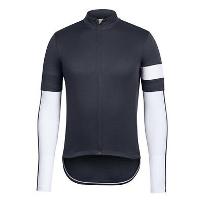 Rapha Grey Classic Men's Jersey with Matching Arm Warmers. Size XXL. BNWT.