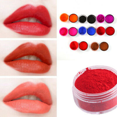 Shiny Natural Lipstick Powder Cosmetic Handmade Food-Grade Makeup Blush