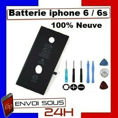 Batterie iPhone 6 / 6S Interne Neuve 0 Cycle + Outil Original