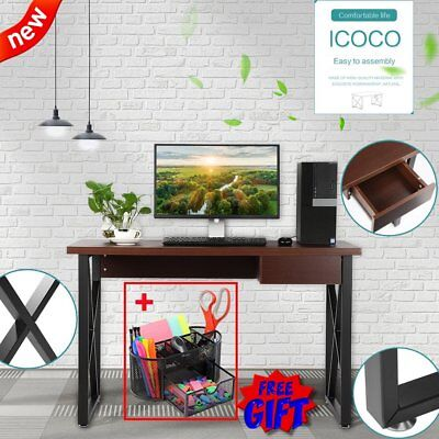 Computer Desk PC Laptop Table Wooden Workstation Student Study Home Office BEST!