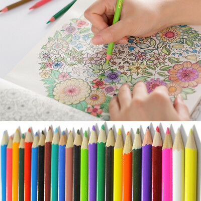 24colors/1Set Marco Raffine Drawing Sketch Pencil Oil Base Non-Toxic Colorful