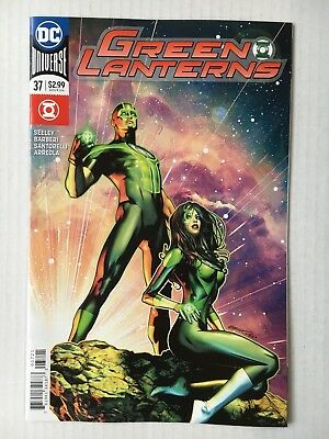 DC Comics: Green Lanterns #37 Variant Cover (2018) - BN - Bagged and Boarded