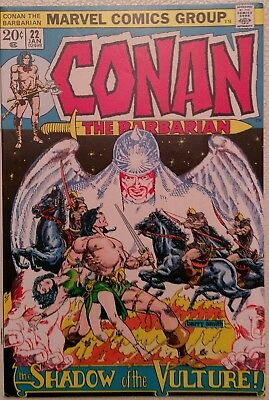 Conan the Barbarian #22 (Jan 1973, Marvel) VF (8.0) Priced to Sell!
