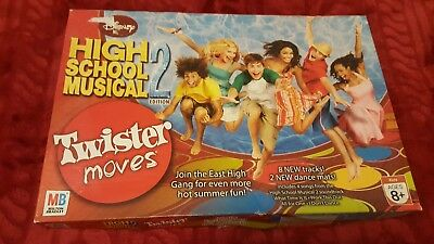 Twister moves high school musical 2 edition