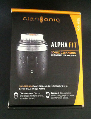 Clarisonic Alpha Fit Face & Body Sonic Cleansing System For Men Free Ship