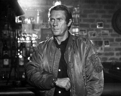 """BELSTAFF """"The Hunter"""" STEVE McQUEEN jacket Bomber Limited Edition size L ICONS"""
