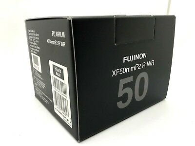 New FUJIFILM XF 50mm f2 R WR - BLACK Lens