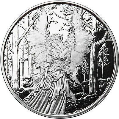 Amy Brown Collection - Lady Of The Forest 1 oz .999 Silver Proof Round USA Coin