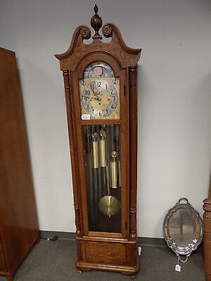 "Herschede Model 294 ""Haverford""  9 Tube Grandfather Clock # 625526, One Owner"