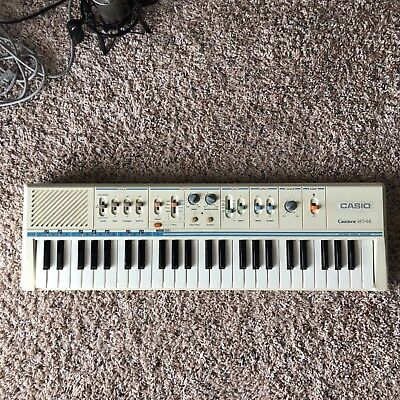Vintage Casio Casiotone MT-45 - Electronic Keyboard Piano - Excellent Condition+