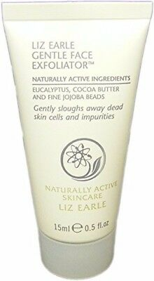 Liz Earle Gentle Face Exfoliator Naturally Active Ingredients Travel Size 15Ml
